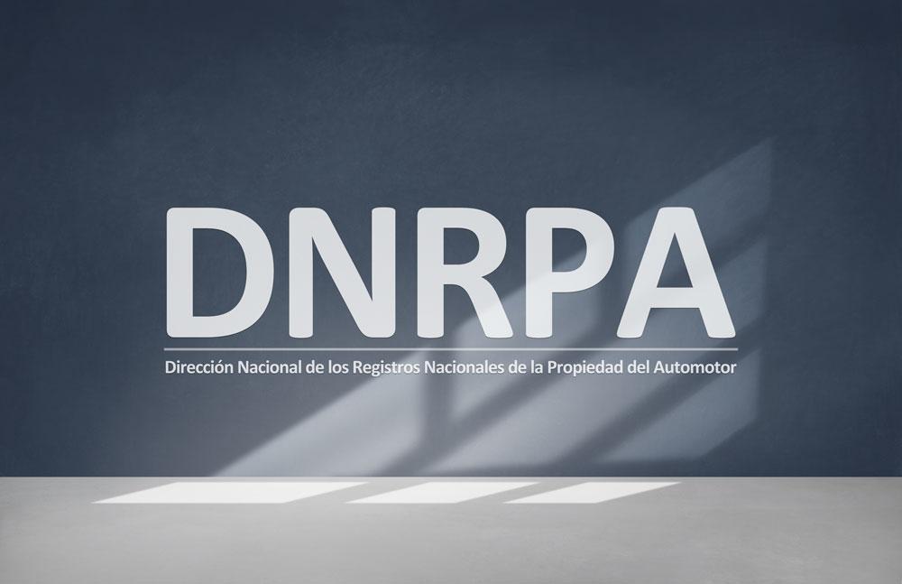 DNRPA Oficina pared con logo